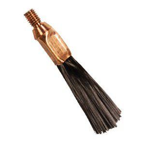 escova tipo pincel / para limpeza de solda / em aço inoxidável / em fibra de carbono