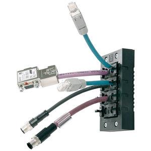 sistema de passa-cabos para cabo
