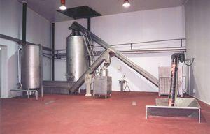 máquina de fusão de blocos de gordura
