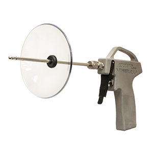 pistola de ar em alumínio