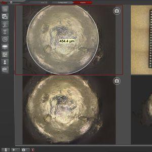 software de controle de qualidade / para microscópio / Windows