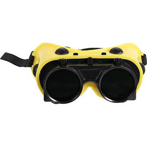 óculos de proteção para soldagem / em nylon / em PVC / metálicos