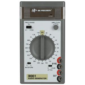 gerador de sinal quadrado / de sinal áudio / compacto / portátil