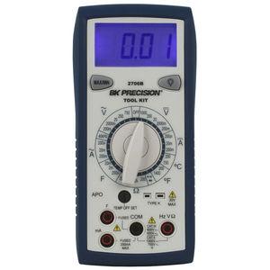 multímetro digital / portátil / 1000 V / 200 mA