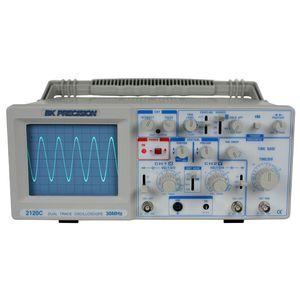 osciloscópio analógico / de bancada / de 2 vias / via única