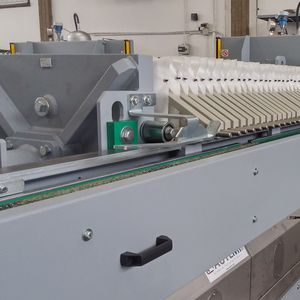 filtro-prensa de viga lateral