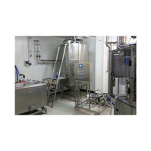 linha de produção para iogurte