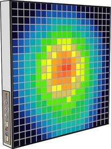 instrumento de medição de campo elétromagnético