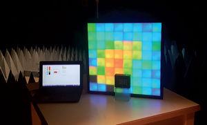 instrumento de medição de campo elétromagnético / USB / com visor / analógico