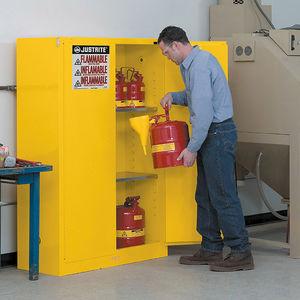armário para produtos inflamáveis