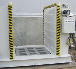 controlador de contaminação gamma