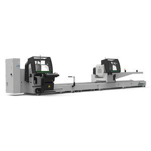 máquina de corte de duas cabeças para plásticos