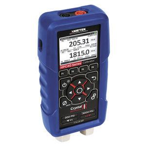 calibrador de pressão / de temperatura / multifuncional / de tensão