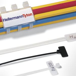abraçadeira de cabos em material plástico