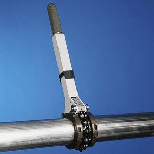 cortador de tubos metálico / de mão / de corrente / orbital