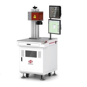 máquina estacionária de solda a laser de fibra