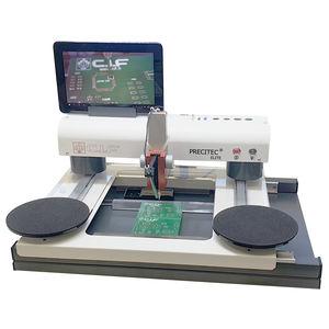 máquina insersora para PCB simples ou dupla face