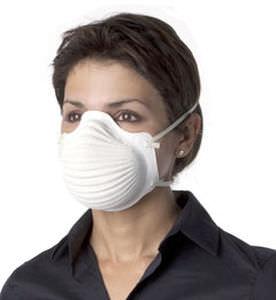 máscara de proteção descartável
