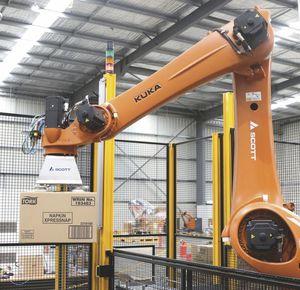 paletizador robótico
