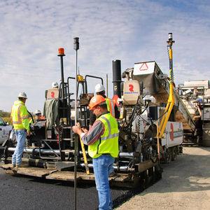 sistema de controle digital / para pavimentadora de asfalto