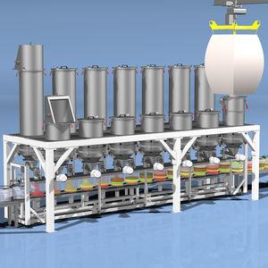 máquina de pesagem linear