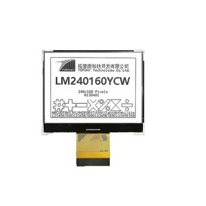 painéis de visualização LCD