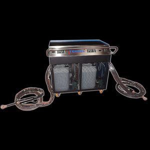 máquina de aquecimento por indução para chapas metálicas