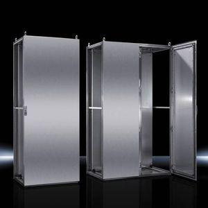 sistema de armários em aço inoxidável