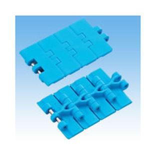 corrente transportadora em material plástico