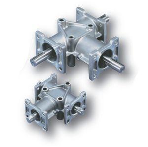 redutor de engrenagens cônicas helicoidais