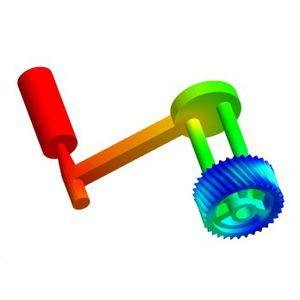 software de análise / de processo / de fluxo / 3D