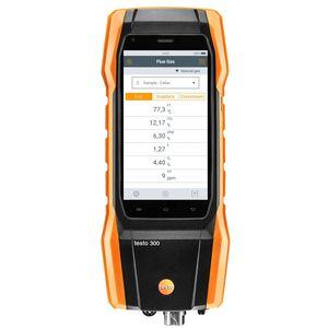 analisador de gás de combustão / de oxigênio / CO / de temperatura