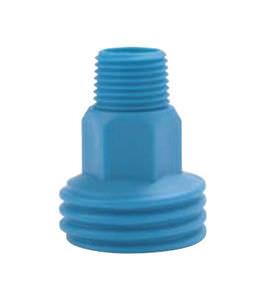 niple em material plástico