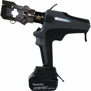 ferramenta de crimpagem hidráulica / para terminal de cabos / com bateria