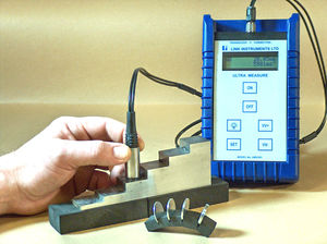 medidor de espessura ultrassônico