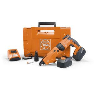 parafusadeira elétrica sem fio / tipo pistola / com alimentação automática de parafuso / com embreagem de desligamento