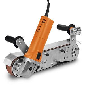 lixadeira de esteira / elétrica / de baixa vibração