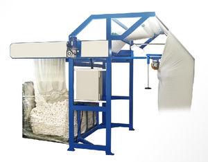 máquina de corte longitudinal para tecidos tubulares