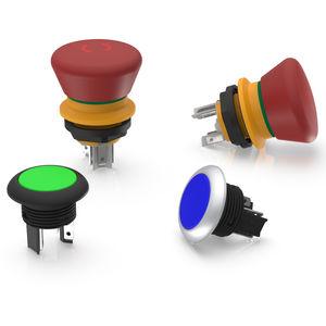 botão de comando sensível ao toque