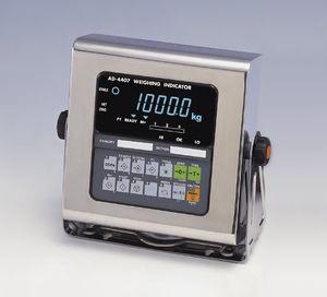 indicador digital de peso