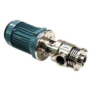 agitador rotor-estator / em linha / para líquidos / para produtos lácteos
