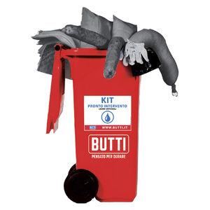 kit de emergência de combate à poluição química