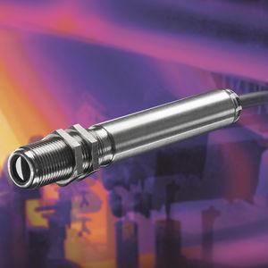 sensor de temperatura de infravermelho / com rosca / compacto / de eletrônica integrada
