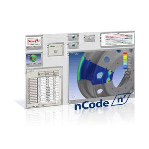 software de análise de dados / de análise de vibração / de análise de desgaste mecânico por elementos finitos / de teste