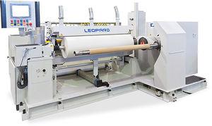 rebobinadeira-cortadeira longitudinal automática