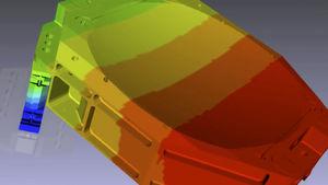 software de análise de desgaste mecânico por elementos finitos