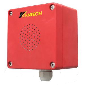 sinalizador sonoro para alarme de segurança intrínseca