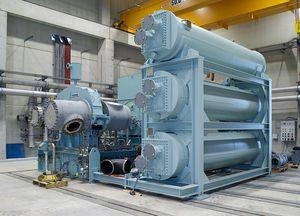 turbocompressor com motor elétrico