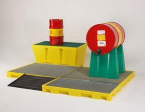 plataforma de contenção em polietileno