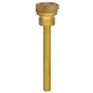poço termométrico de soldar / de roscar / em aço inoxidável / para sensor de temperatura